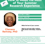 How to make the most/Summer Research Experience