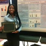 Kelsey Kenniel Wins at LSU Undergraduate Research Conference