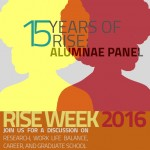 RISE Week Alumnae Panel *Reception to Follow*